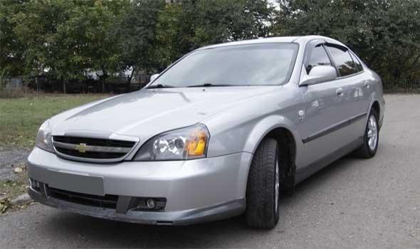 Газ на автомобиль Chevrolet Evanda