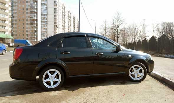 Газ на автомобиль Chevrolet Lacetti