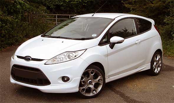 Газ на автомобиль Ford Fiesta