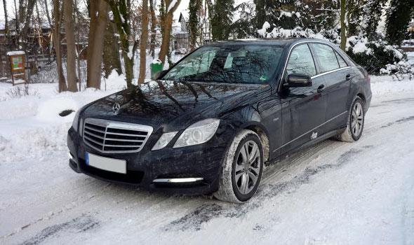 Газ на Mercedes Benz
