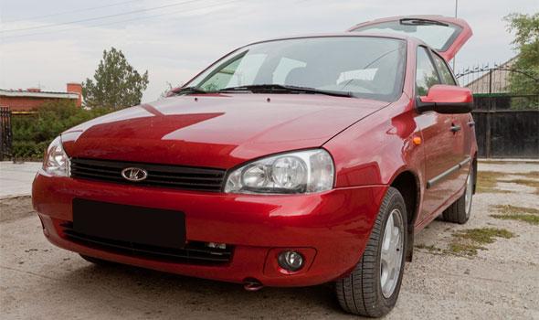 Газ на автомобиль Lada Kalina