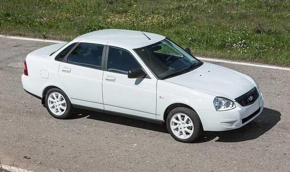 Газ на автомобиль Lada Priora