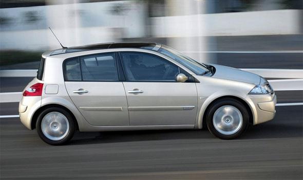 Газ на автомобиль Renault Megane Hatchback